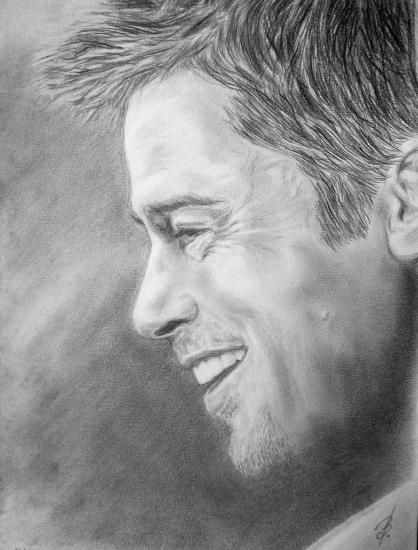 Brad Pitt by bashya